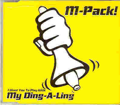 M-Pack! - My Ding-A-Ling, CD-Single