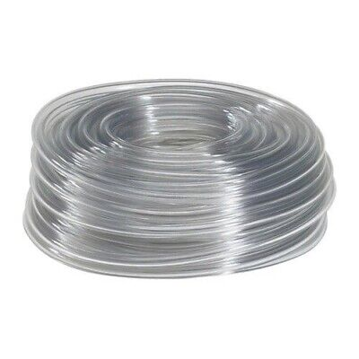 "5 Feet of 7/16"" I.D. Clear Vinyl Tubing, High Quality Food Safe Tubing"