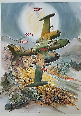 """A-26A Counter Invaders call sign """"NIMROD"""" over the Ho Chi Minh Trail"""
