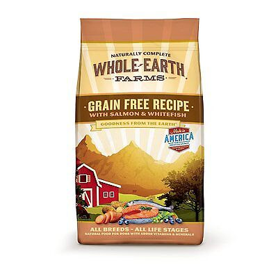 Whole Earth Farms Grain Free Chicken and Turkey Recipe Dry Dog Food  85580