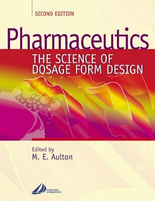 Pharmaceutics: The Science of Dosage Form Design Paperback Book The Cheap Fast