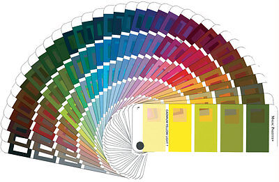 Magic Palette Color Matching Guide 36 Pure Artist's Colors 144 Tints & Shades