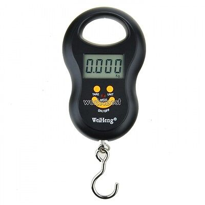 Gourd Shape Portable 10G-50KG LCD Digital Luggage Fishing Weight Scale WST