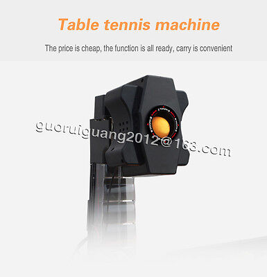 HOT Super Master Table Tennis Robot/ping pong ball Machine/Coach/,36 spin kinds
