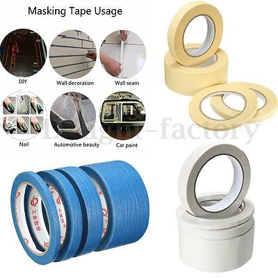 Masking Tape Painting Paper DIY Painters Decorators Various Size General Purpose