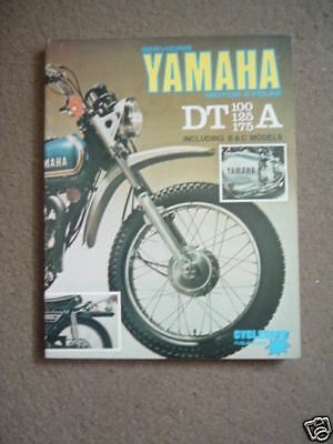 Cycleserv Yamaha Dt 100 125 175 A B C Manuale Officina