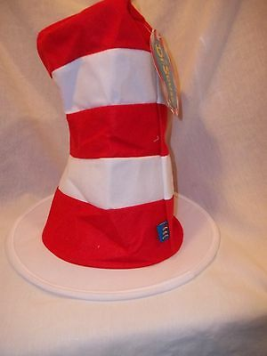 Dr Seuss The Cat in the Hat NEW Stand up Hat Child Size