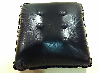 SALE for limited time only!  Massage Cushion / Pillow - Black Buttons