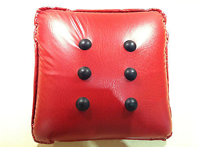 Pressure Activated Massage Cushion / Pillow - Red Buttons