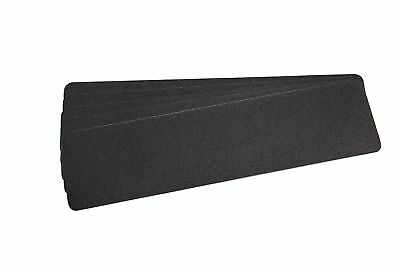 """Black Stair Safety Anti Slip Tread Tape - Package of 5 6"""" X 24"""" New"""
