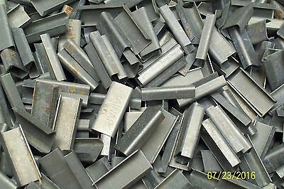 """*lot Of 100* New 3/8"""" Banding Strapping Seal Clip"""