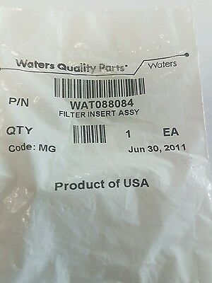 WATERS WAT088084 FILTER INSERT. Free Tracked Postage.