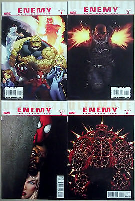 ULTIMATE ENEMY 1,2,3,4 (1-4)...NM-...2010...Bendis,Sandoval...Bargain!