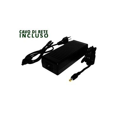 Alimentatore Carica Batterie Switching12Vcc 10A con spinotto 5.5x2.5 Alcapower
