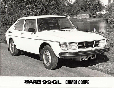 Saab 99Gl Combi Coupe Period Photograph.