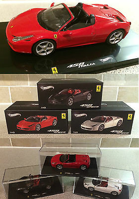 Mattel Hotwheels Elite Ferrari FC458 Spider Limited Edition Model Car 1.43 Hot