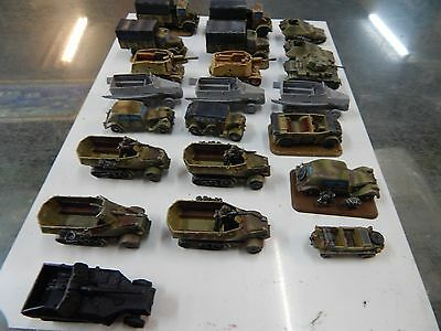 15mm / 1:100 scale Flames of War German Transports - 21st Panzer