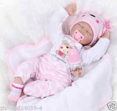 Bonnie Chyle Tippy Toes Collectible Lifelike Baby Girl