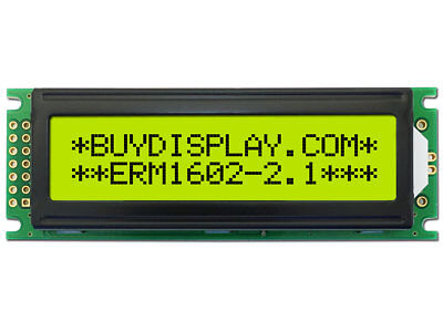 3.3V 16x2 1602 LCD Character Module Display w/Tutorial,HD44780,Bezel,Backlight