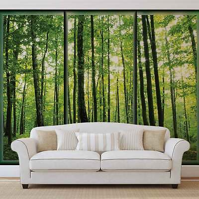 WALL MURAL PHOTO WALLPAPER XXL Forest Trees GreenNature (495WS)