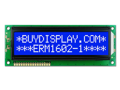 Factory Outlet 3.3V 16x2 Blue LCD Character Module Display w/Tutorial,HD44780