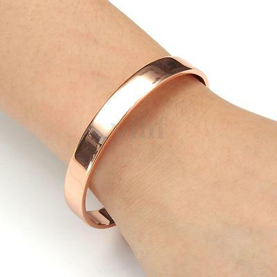 Copper Bracelet Magnetic Healing Bio Therapy Arthritis Pain Relief Bangle Gift