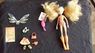 Stella 2004 winx club doll (OUT OF PRINT, RARE DOLL!)
