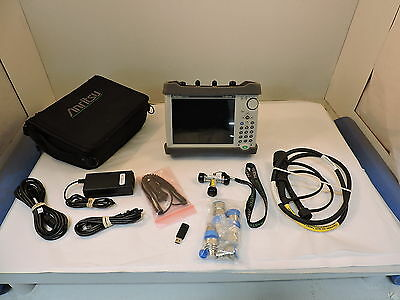 Anritsu S362E Site Master Cable & Antenna Analyzer, Spectrum Analzyer, 6GHz