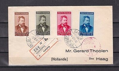 1940 registered cover to holland,rare!          d2393