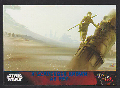 Topps Star Wars - The Force Awakens - Blue Parallel Card # 69