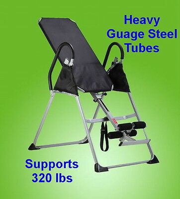 Inversion Table Pro Pivot Fitness Chiropractic Table Exercise Back Reflexology