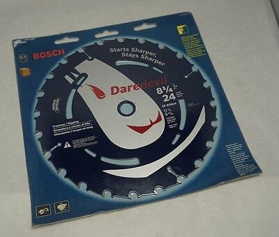 Bosch DCB824 8‑1/4 In. 24 Tooth Daredevil Portable Saw Blade - BRAND NEW SEALED!