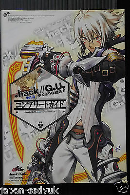 JAPAN .hack//G.U. Vol.3 Redemption Complete Guide book