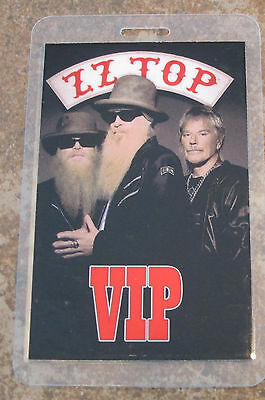 ZZ TOP - VIP Laminate from ticketing package