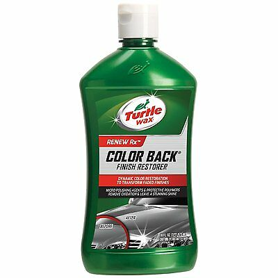 Turtle Wax T-270R1 1-Step Color Back Oxidation Remover & Finish Restorer