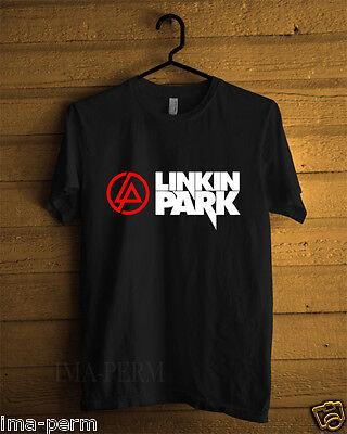 Linkin Park Classic ROCK BAND Black T-shirt for Man Size S-2XL