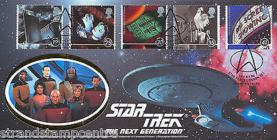 "1996 Films - Benham Pilgrim ""Star Trek Generations"" Official - Star Place H/S"