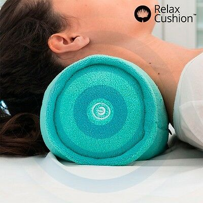 MASSEUR VIBRANTE MASSAGE COU DOS LOMBAIRE JAMBES COUSSIN ROULEAU Relax Roll-Over