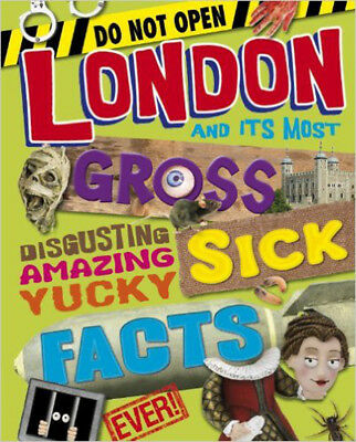 London Yucky Sick Facts, New, Jim Pipe Book