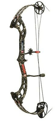 New 2015 PSE Surge Compound Bow Right Hand 60# Skullworks Camo
