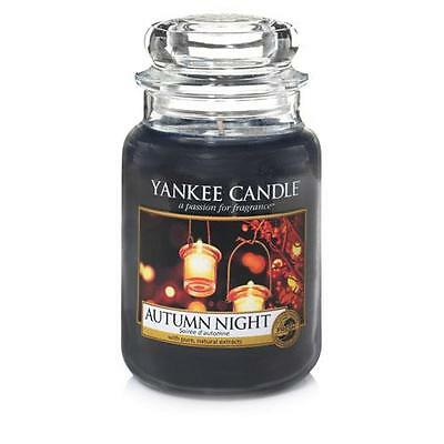 Yankee Candle Autumn Night Large Jar Scented Candle