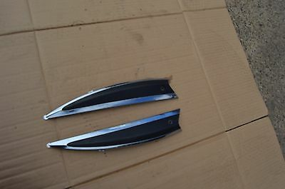 piaggio liberty 125 side plastic chrome trim panel fairing plastic seat area