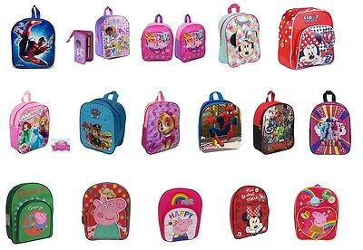 Boys Girls Kids Character Nursery Junior School Bag Rucksack Backpack Swim Bag