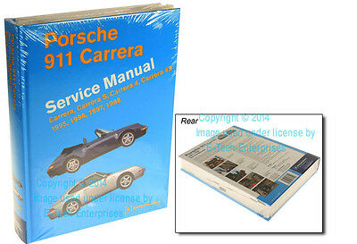 Repair Service shop Guide Information HandBook Manual for Porsche 911 Carrera