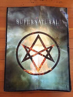 NEW 2016 SDCC San Diego Comic Con Exclusive SUPERNATURAL Promotional Tote Bag CW