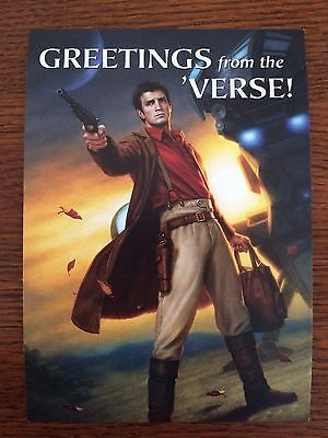 NEW 2016 SDCC Comic Con Exclusive FIREFLY SERENITY Promo Postcard Card