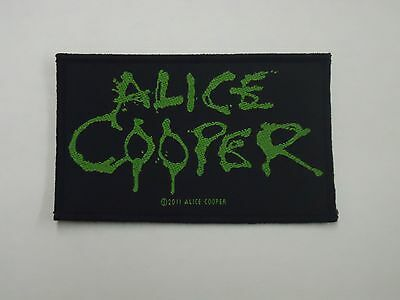 Alice Cooper Logo Woven Patch