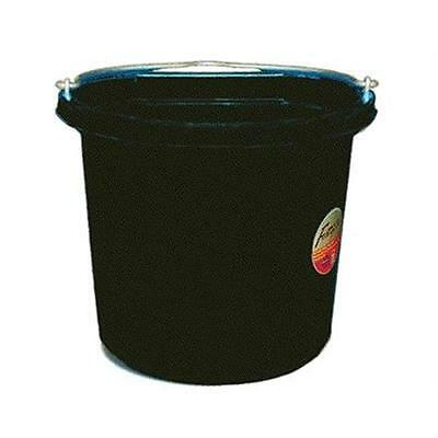 Fortex Industries Inc dos plat Seau Fb-124-24 Noir Quart FB-124 NOIR