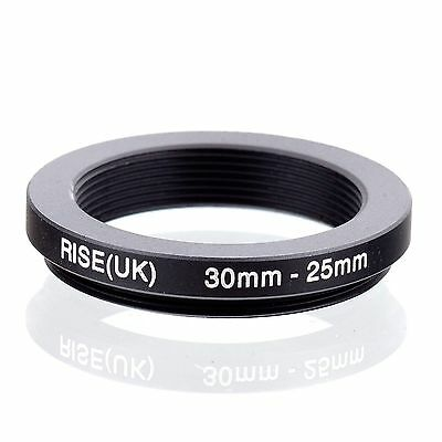 RISE (UK) 30-25MM 30MM-25MM 30 to 25 Step Down Ring Filter Adapter