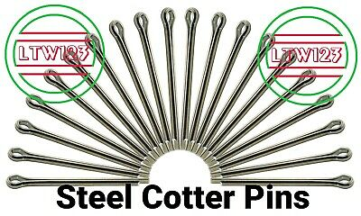 "(200) Cotter Pin  1/8"" x 1-1/4"" (CP4-10)"